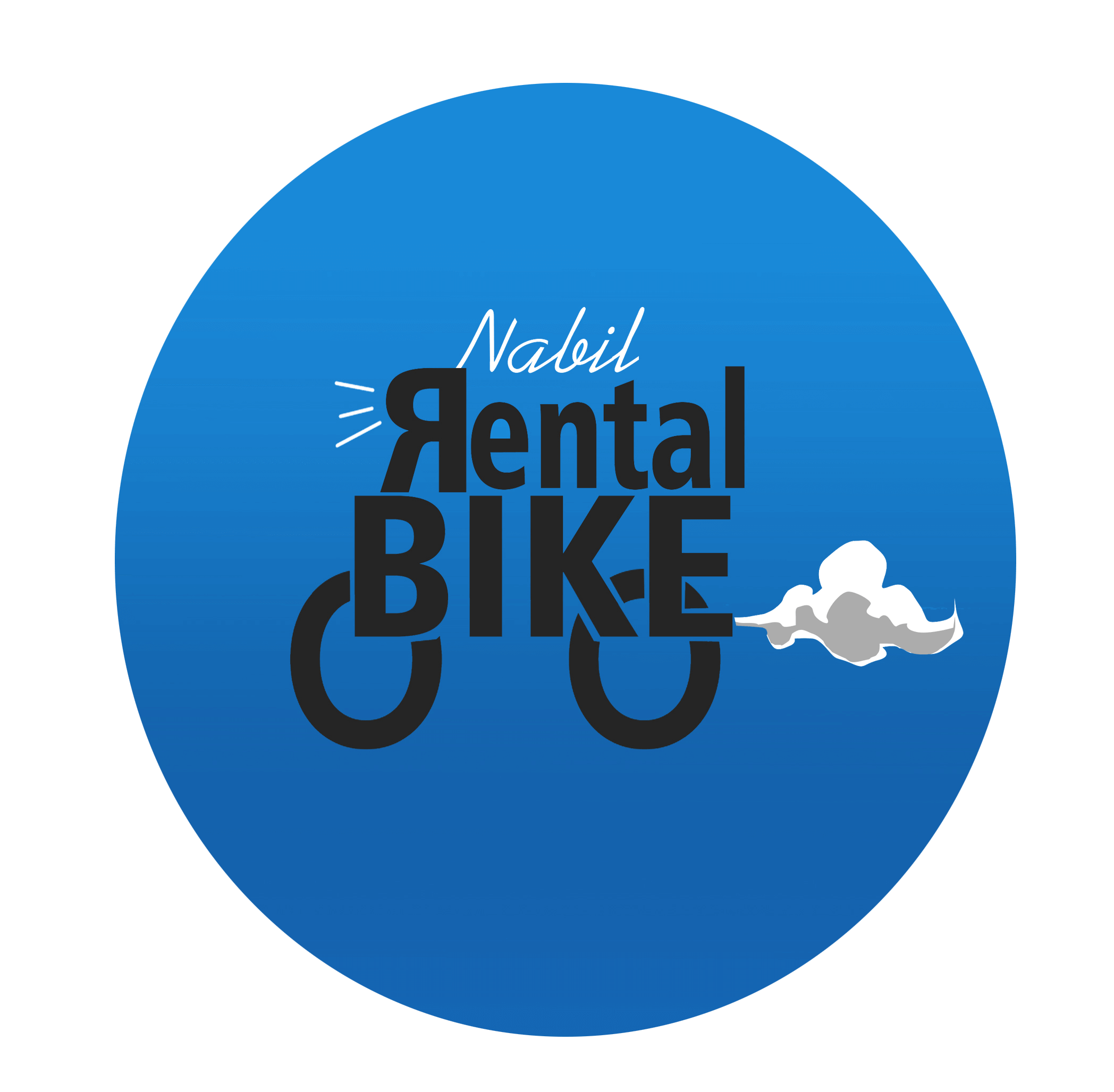 logo nabil rent bike